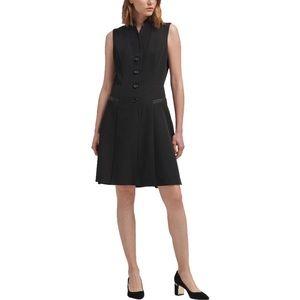 Dkny Tuxedo A-Line Dress sz 16